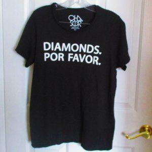 Chasor Diamonds Por Favor Tee MEDIUM